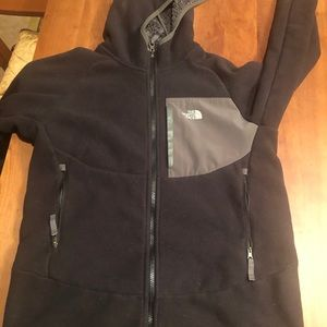 Boys North face fleece with Sherpa lining